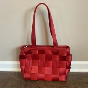 Harveys Original Seatbelt Bag Crimson Red Purse
